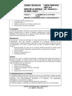 NUMERO DE LA ACTIVIDAD 9 - HITO PISOS ESPECIFICACIONES TECNICAS - 12-12-2017