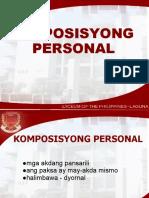 lec3 KOMPOSISYONG PERSONAL