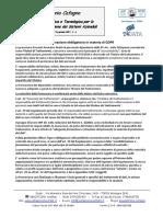 Formazione obbligatoria in materia di GDPR