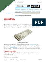 Computer Keyboards