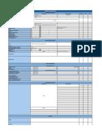 Plantilla Checklist