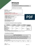 CO (0-10) en Argón
