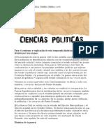 RESEÑA-CIENCIAS POLITICAS