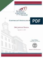 24th Judicial District Report