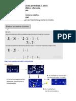 Guía 6° Suma de números mixtos 2