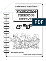 4° B  CUADERNILLO DE REPASO