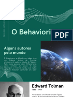 O Behaviorismo 03