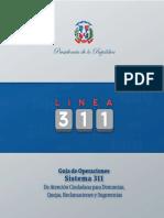 Guía de Operaciones del Sistema 311 de la OPTIC
