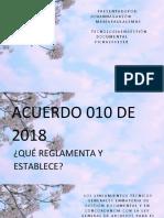 EXPOSICION ACUERDO 010 DE 2018