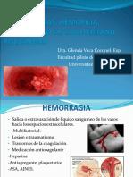 Hemorragias, hemofilia, EVW, Policitemia