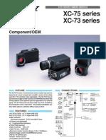 SONY XC-75 - 73e Camera