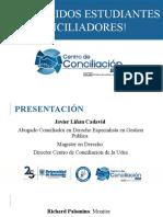 BIENVENIDA A ESTUDIANTES CONCILIADORES (1)