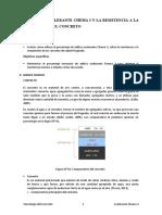 ADITIVO ACELELERANTE CHEMA 3 Y LA RESISTENCIA A LA COMPRESIÓN DEL CONCRETO