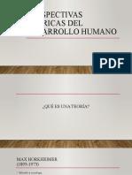 Perspectivas teóricas del desarrollo humano