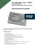Manual panouri solare UVR61_V2_5_engl