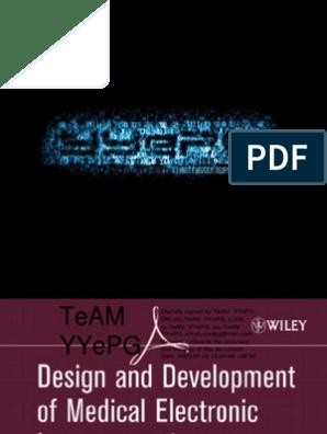 design and development of medical electronic instrumentation (2005