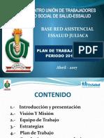 PLAN DE TRABAJO  2017-2018