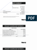 BRS Cost Estimate Summary Feb Ballot