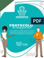 PRESENTACION PROTOCOLO DE BIOSEGURIDAD Y SU IMPLEMENTACION