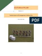 Scutum et Pilum Wargame Rules