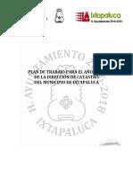 PLAN DE TRABAJO CATASTRO 2017-2