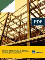 Folder Perfis Estruturais Gerdau - Construção de Edificios.pdf