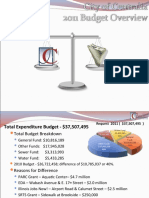 2011 Final Budget Overview