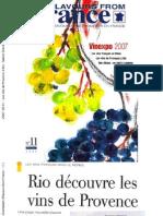 2007-06-01 - Les vins de Provence à Rio - Sabine Grandadam (Flavours from France - 11)