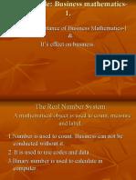 Mathematics & Decision Making