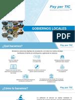Presentación gobiernos locales
