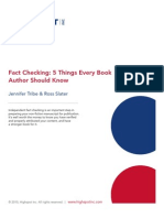 Fact Checking for Authors