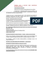 Notas sobre documentos para discussão de CSE na EPT