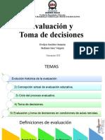 Evaluación y toma de decisiones