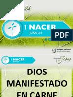 LECCIÓN 11 DIOS MANIFESTADO EN CARNE