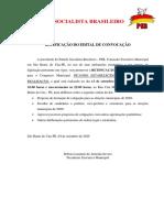 Retificações Do Edital de Convocação Convenção Psb - Fábio Cavalcante