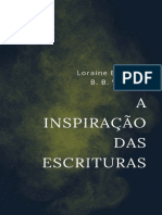 A inspiracao das Escrituras - Loraine Boettner