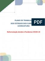 PLANO DE TRABALHO COVID 19