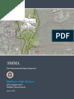 WalthamHS  FEIR Report