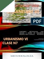 URBANISMO VI CLASE 7