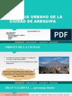 ANÁLISIS URBANO DE LA CIUDAD DE AREQUIPA