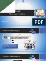 Modelos para planificar Unidad II