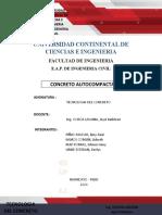 CONCRETO AUTOCOMPACTANTE PRESENTAR