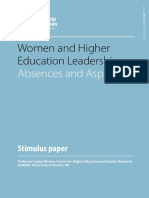 Women and Higher Education Leadership - Absences and Aspirations - Morley.pdf