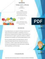 Trabajo Repase y reflexione psicologia educativa.