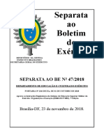 Brasil - Port 236 31 out 18 Sistema de Educação Superior Militar do EB - 2018