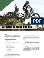 AJP Motos - PR5 Lista de Peças - 250