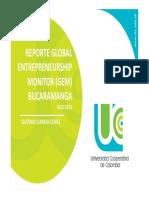 GLOBAL ENTREPRENEURSHIP MONITOR (GEM)