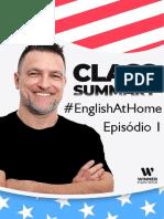 English at home - Episódio 1 PDF