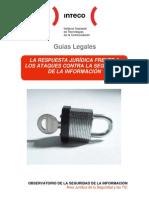 Guía sobre la respuesta jurídica a los ataques contra la Seguridad de la Información