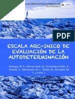 escala arc- evaluacion de autovalimiento
